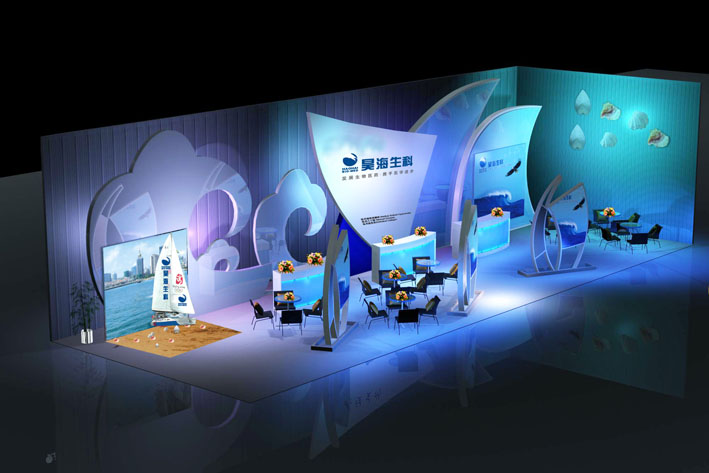 2医药会议方案设计,会场布置搭建图片